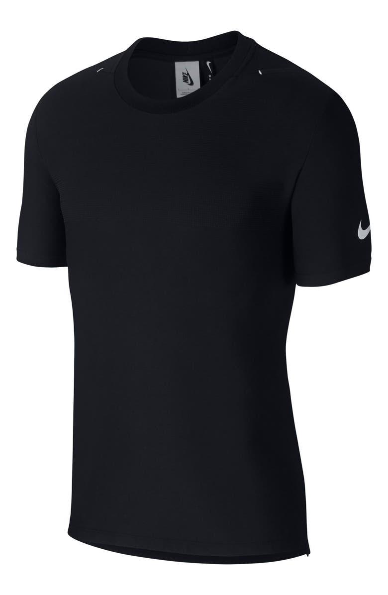 NIKE x Matthew Williams Dri-FIT Beryllium Performance T-Shirt, Main, color, BLACK