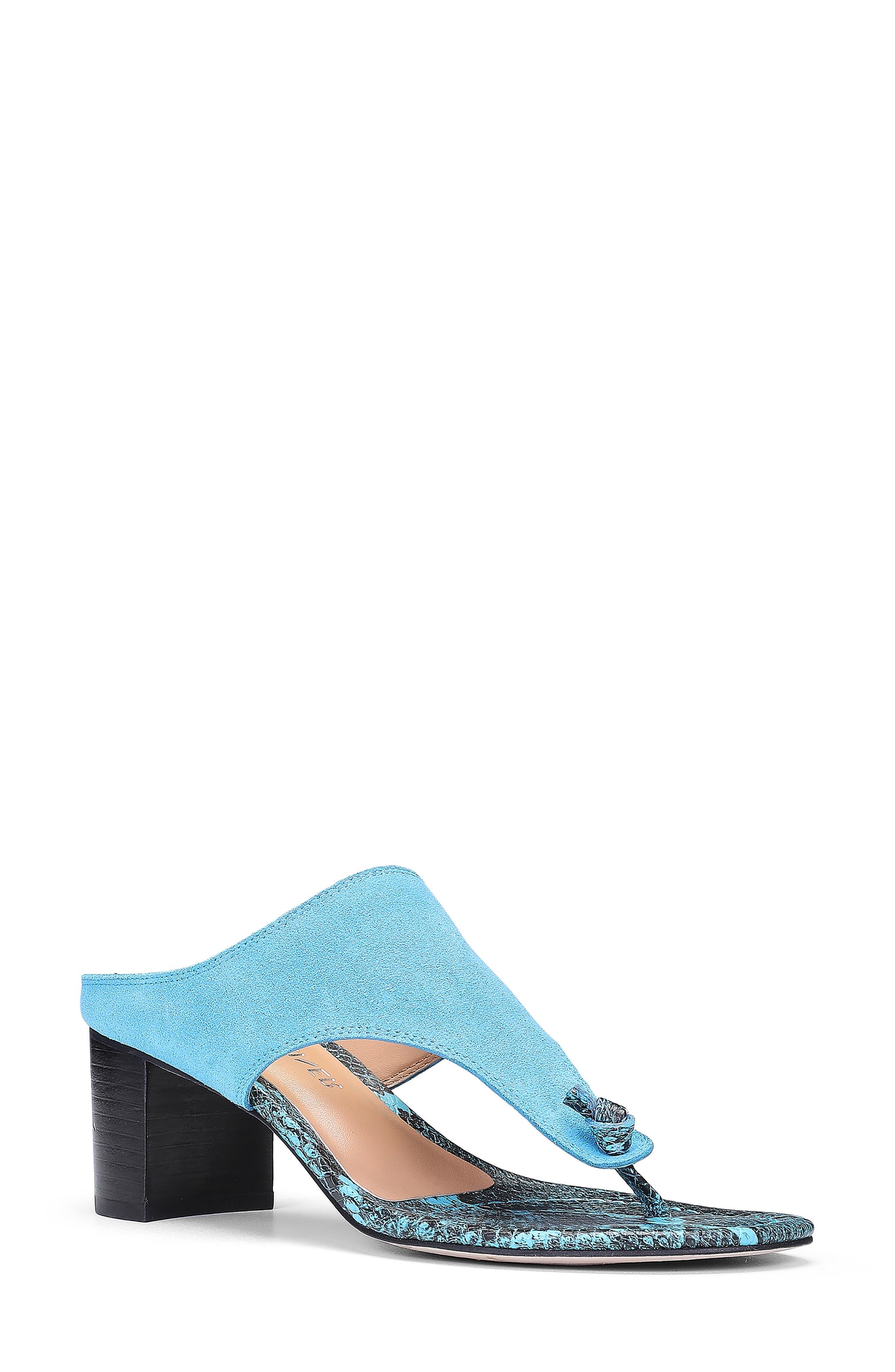 Ozone Crescent Heel Sandal