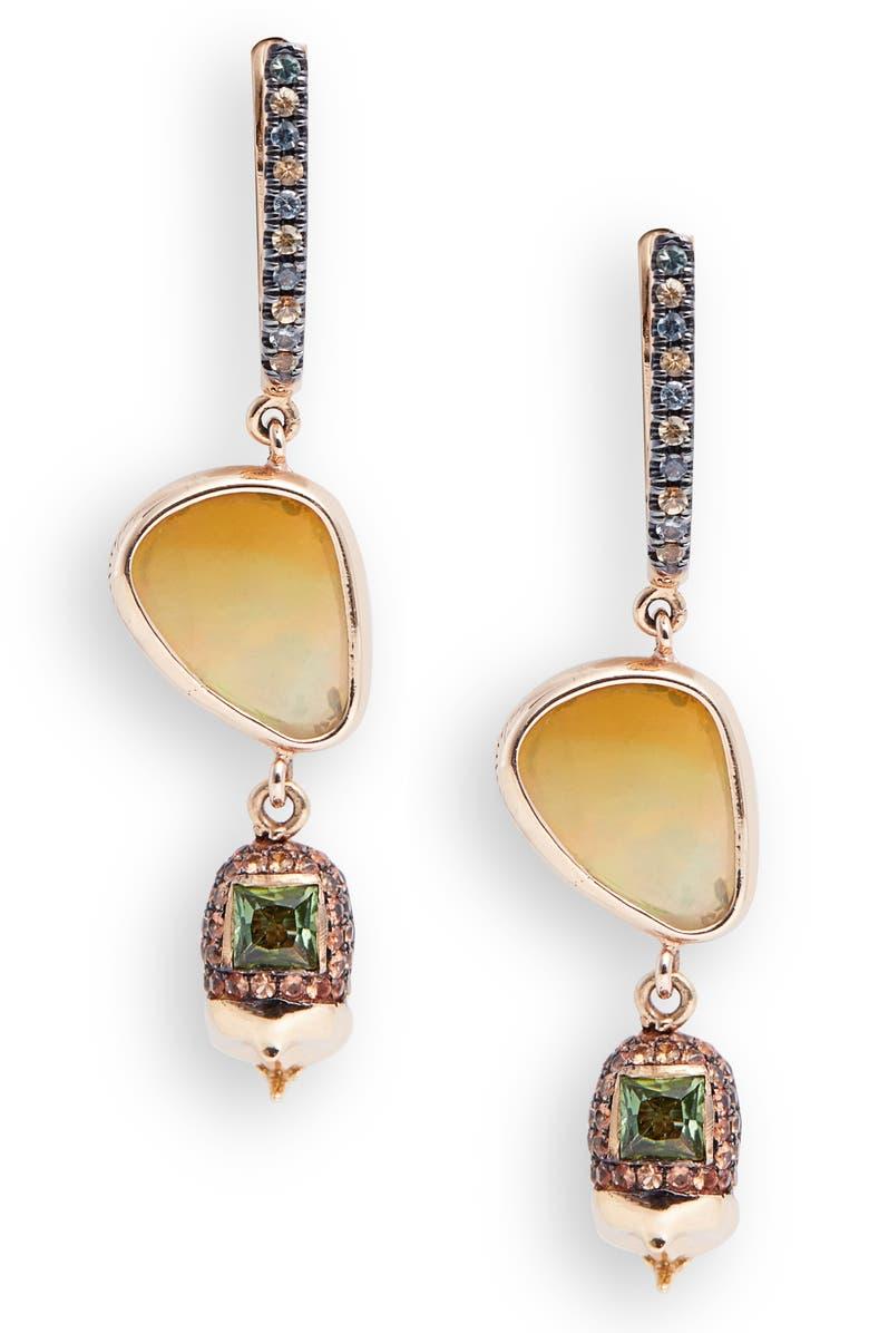 DANIELA VILLEGAS Compadres Drop Earrings, Main, color, 405