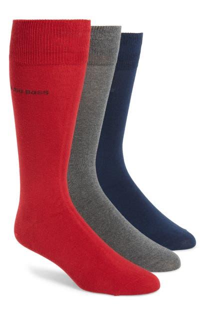 Boss Socks 3-PACK SOLID SOCKS