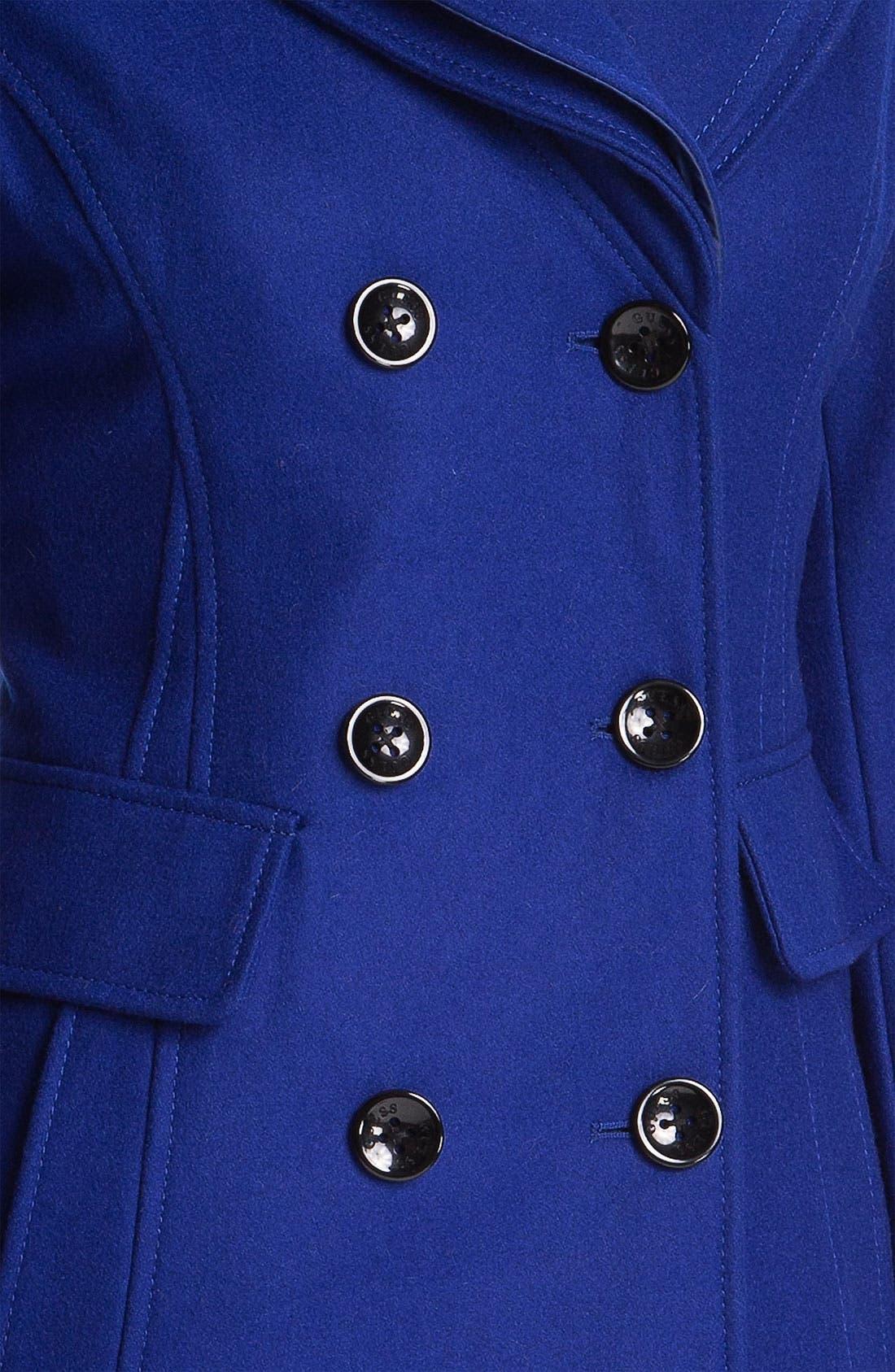 ,                             Double Collar Coat,                             Alternate thumbnail 8, color,                             400
