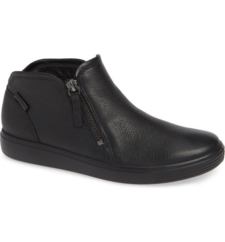 93d13951c4e26 Soft 7 Mid Top Sneaker, Main, color, BLACK/ BLACK LEATHER