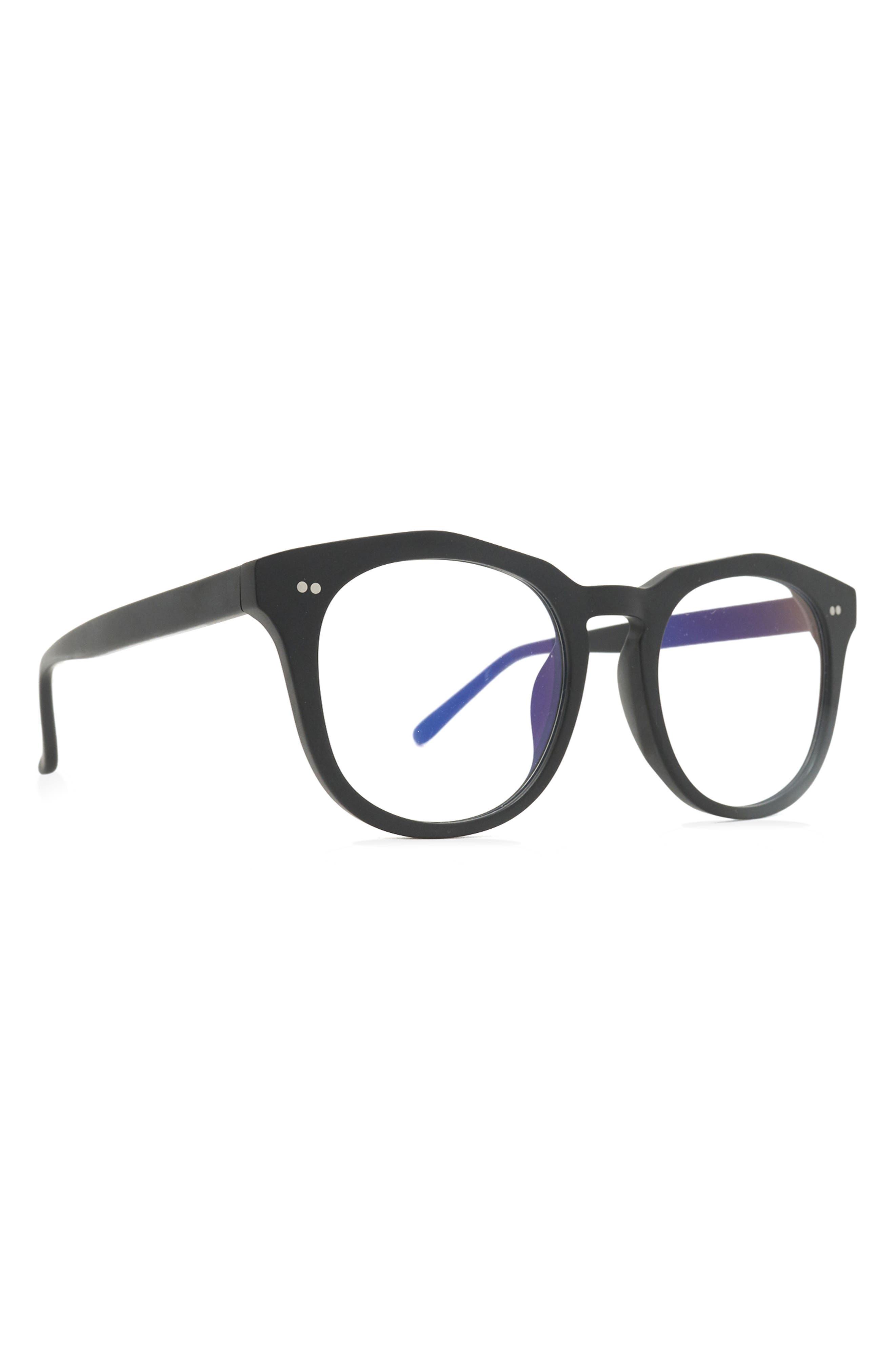 50mm Blue Light Blocking Round Glasses