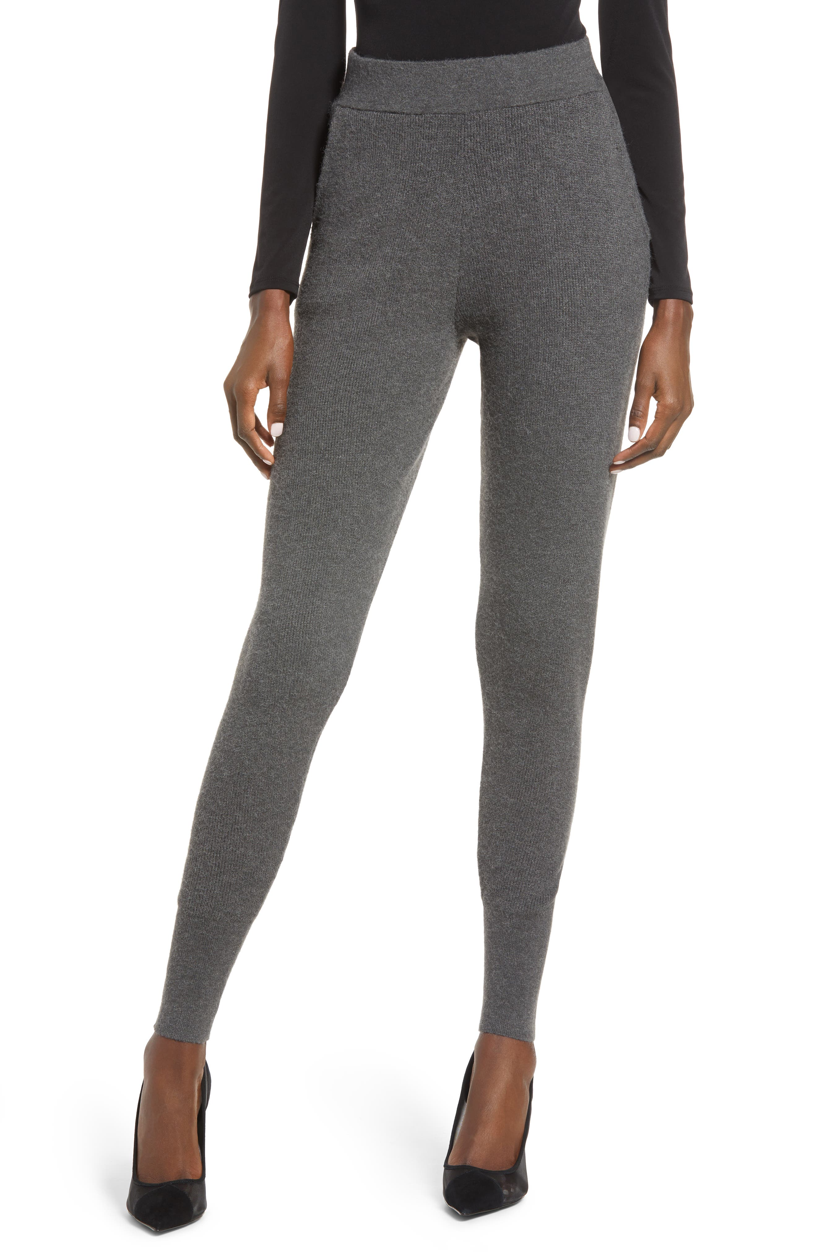Refine your relaxation options in these sleek leggings, knit to be a bit more forgiving through the hip and thigh and optimized with a pair of pockets. Style Name: Leith Knit Leggings. Style Number: 6084223. Available in stores.
