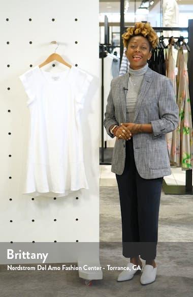 Carlen Linen Shift Dress, sales video thumbnail