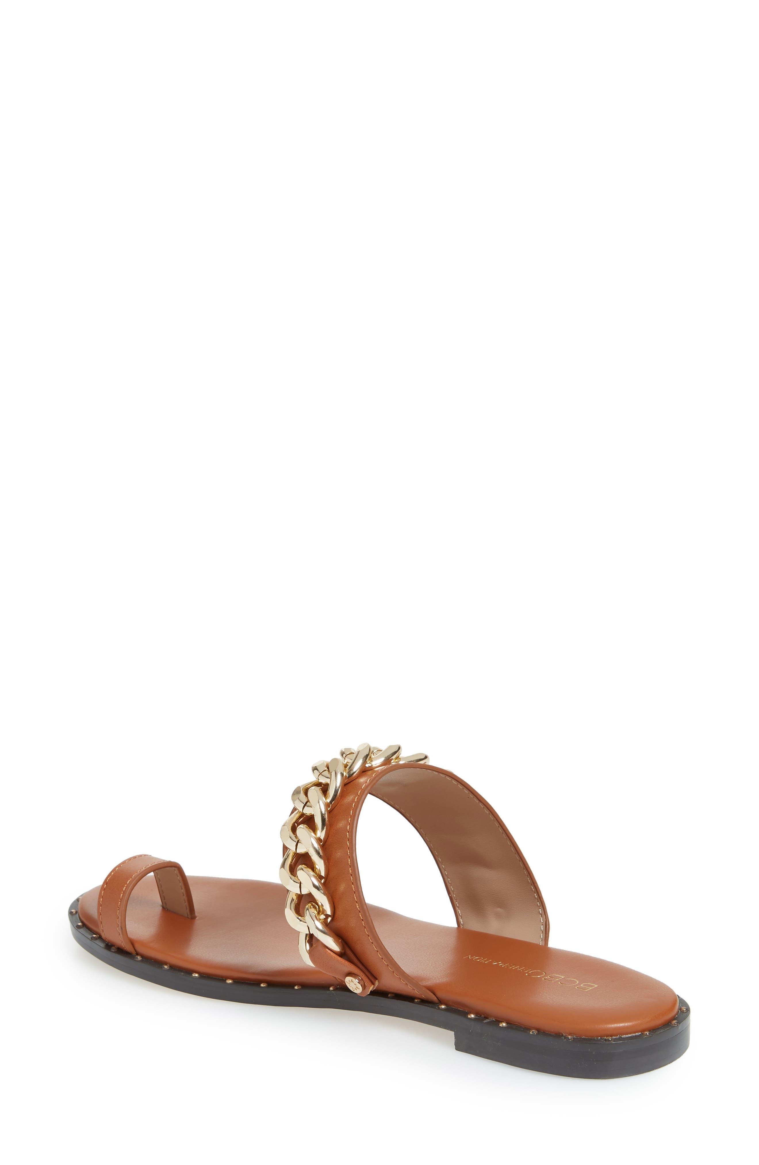 ,                             Zola Chain Slide Sandal,                             Alternate thumbnail 8, color,                             200