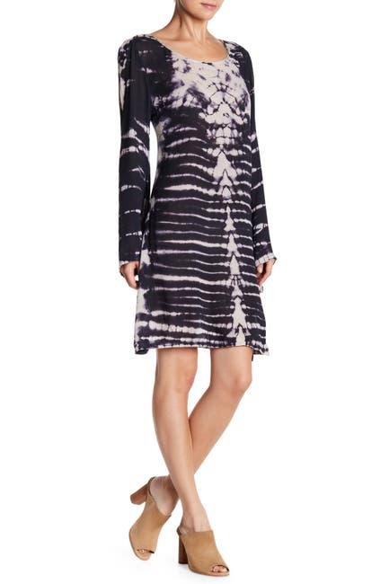 Image of RAGA November Nights Tie-Dye Tunic Dress