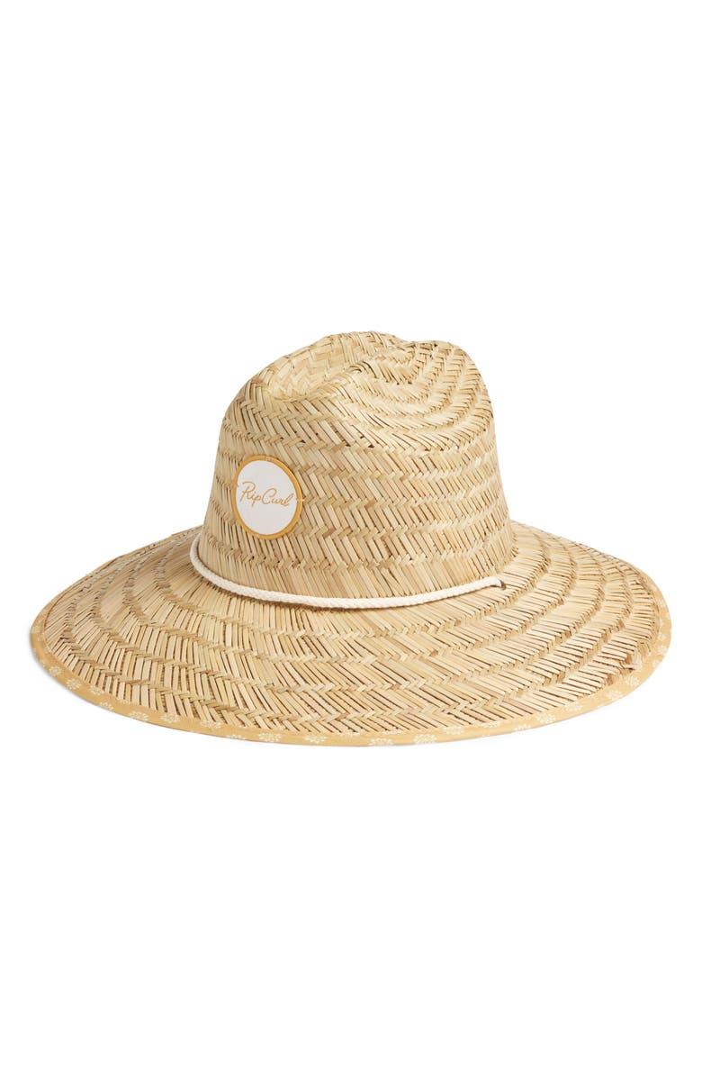 RIP CURL Coastal Tides Straw Hat, Main, color, 250