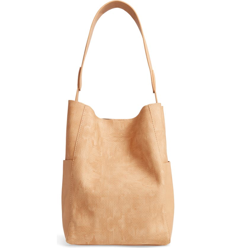 BP. Soft Shoulder Bag, Main, color, BEIGE ANGORA