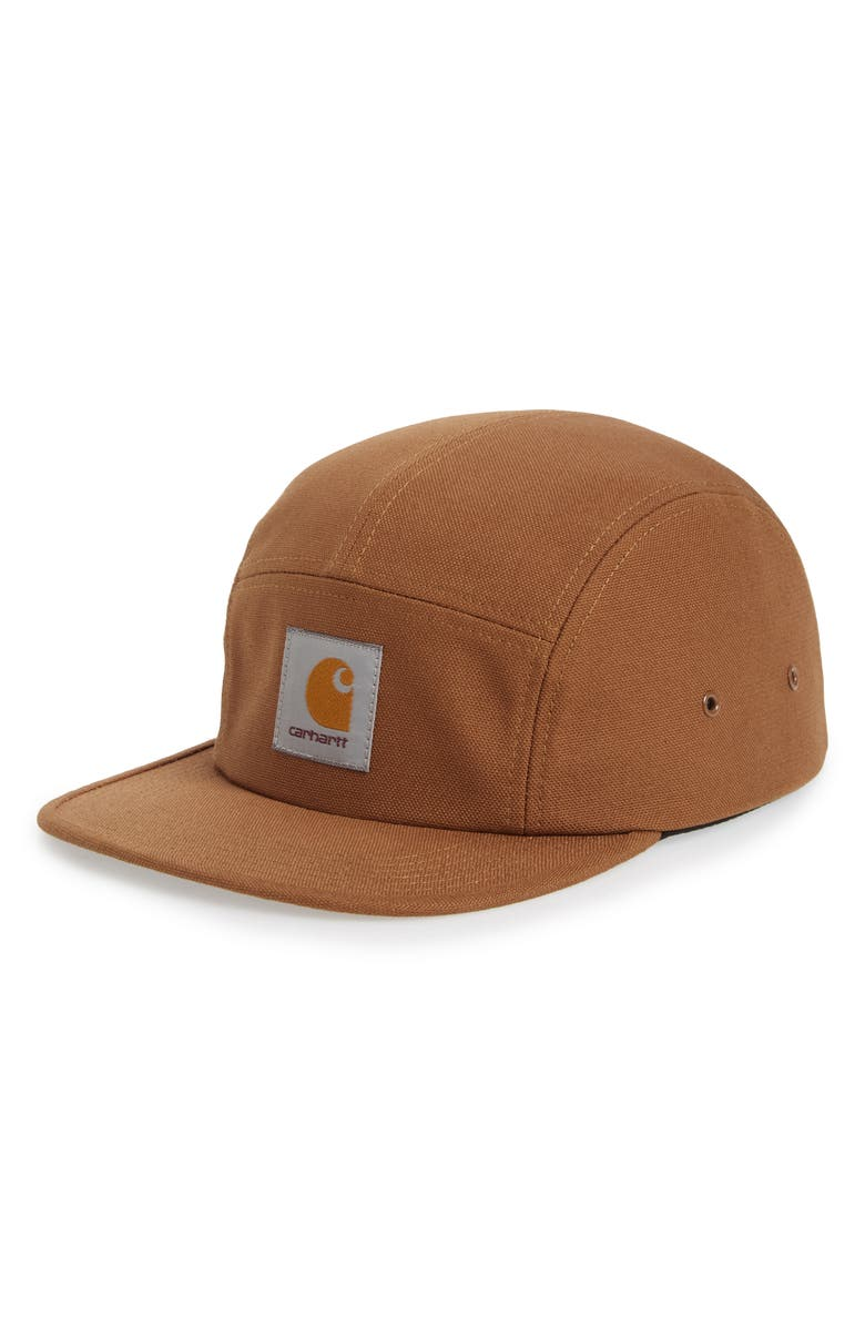 CARHARTT WORK IN PROGRESS Camp Hat, Main, color, HAMILTON BROWN