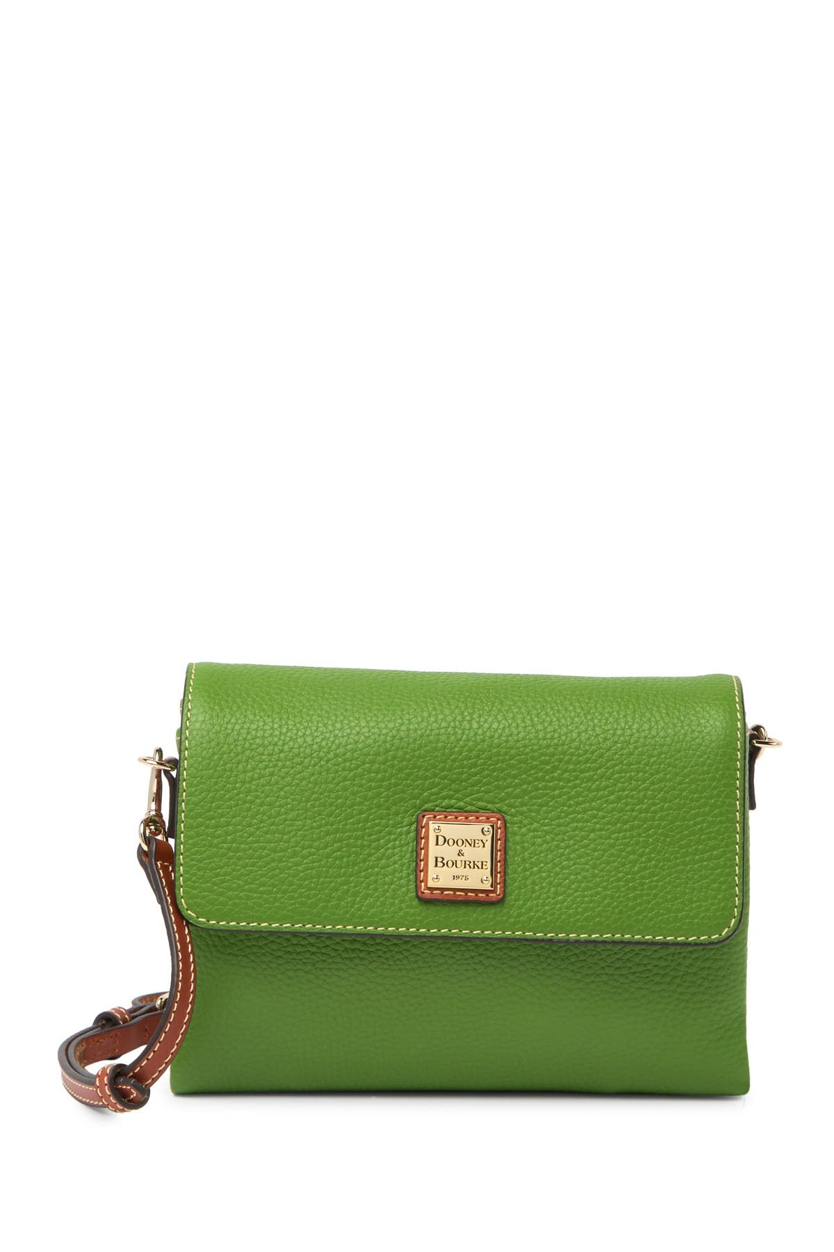 Image of Dooney & Bourke Hunter Leather Crossbody Bag