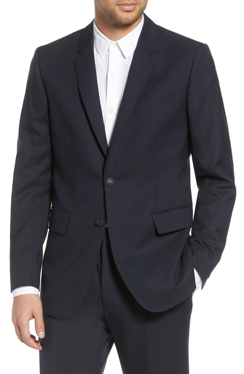 RAG & BONE Razor Blazer, Main, color, 410