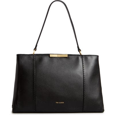 Ted Baker London Camieli Faceted Bow Tote Bag - Black