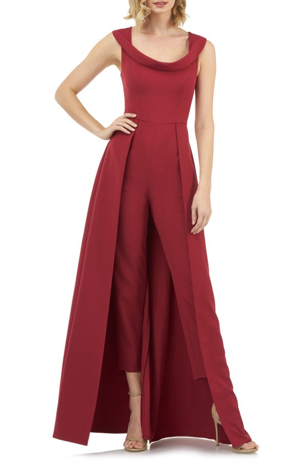 Kay Unger Skirts JUMPSUIT GOWN