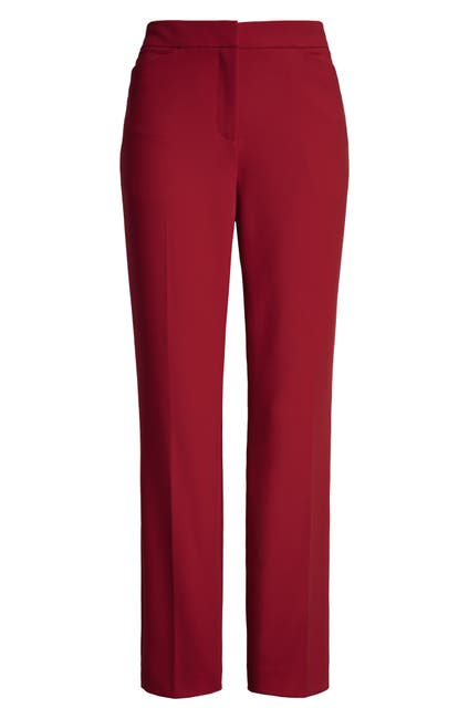 Image of Halogen Kick Flare Ponte Knit Crop Pants