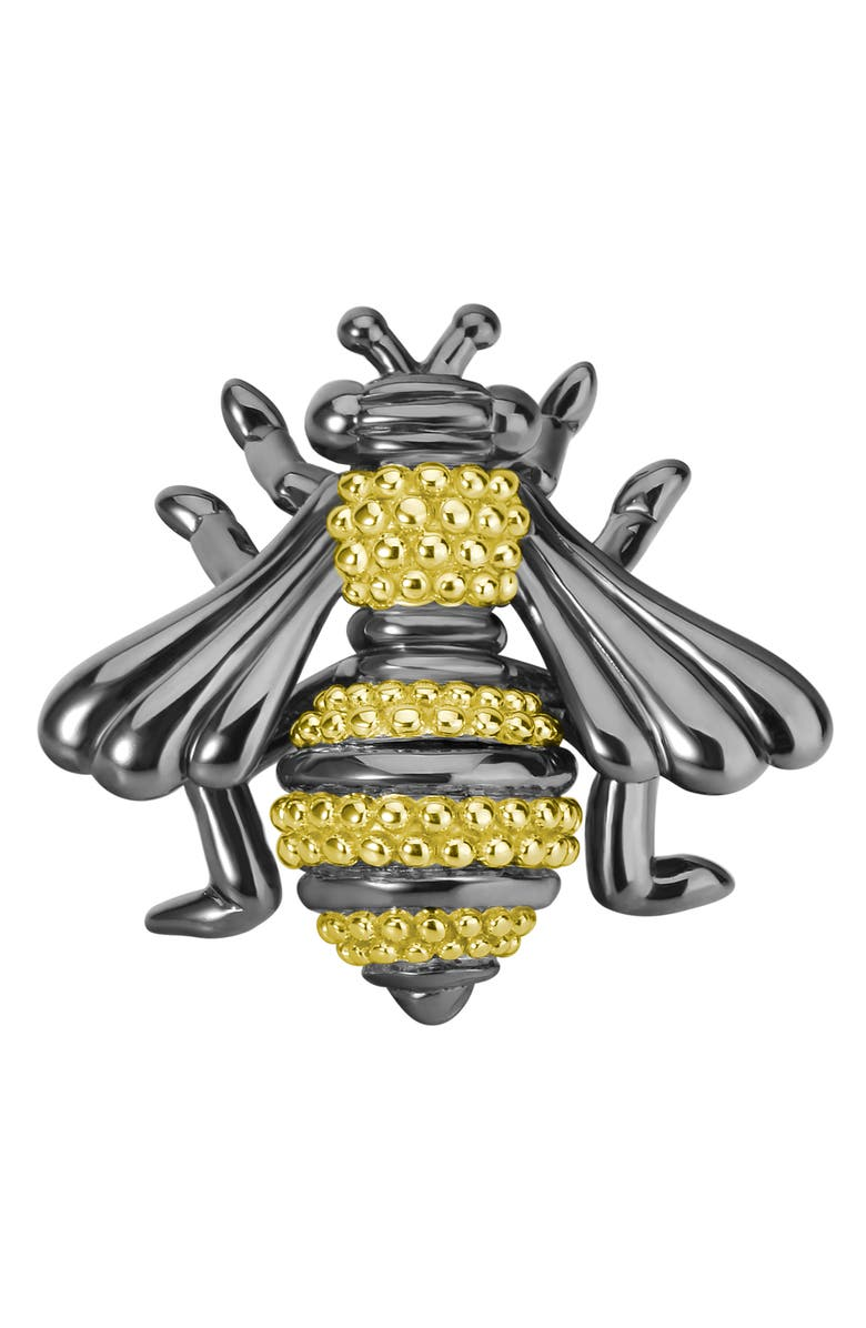 LAGOS Rare Wonders - Honeybee Pin, Main, color, SILVER/ GOLD