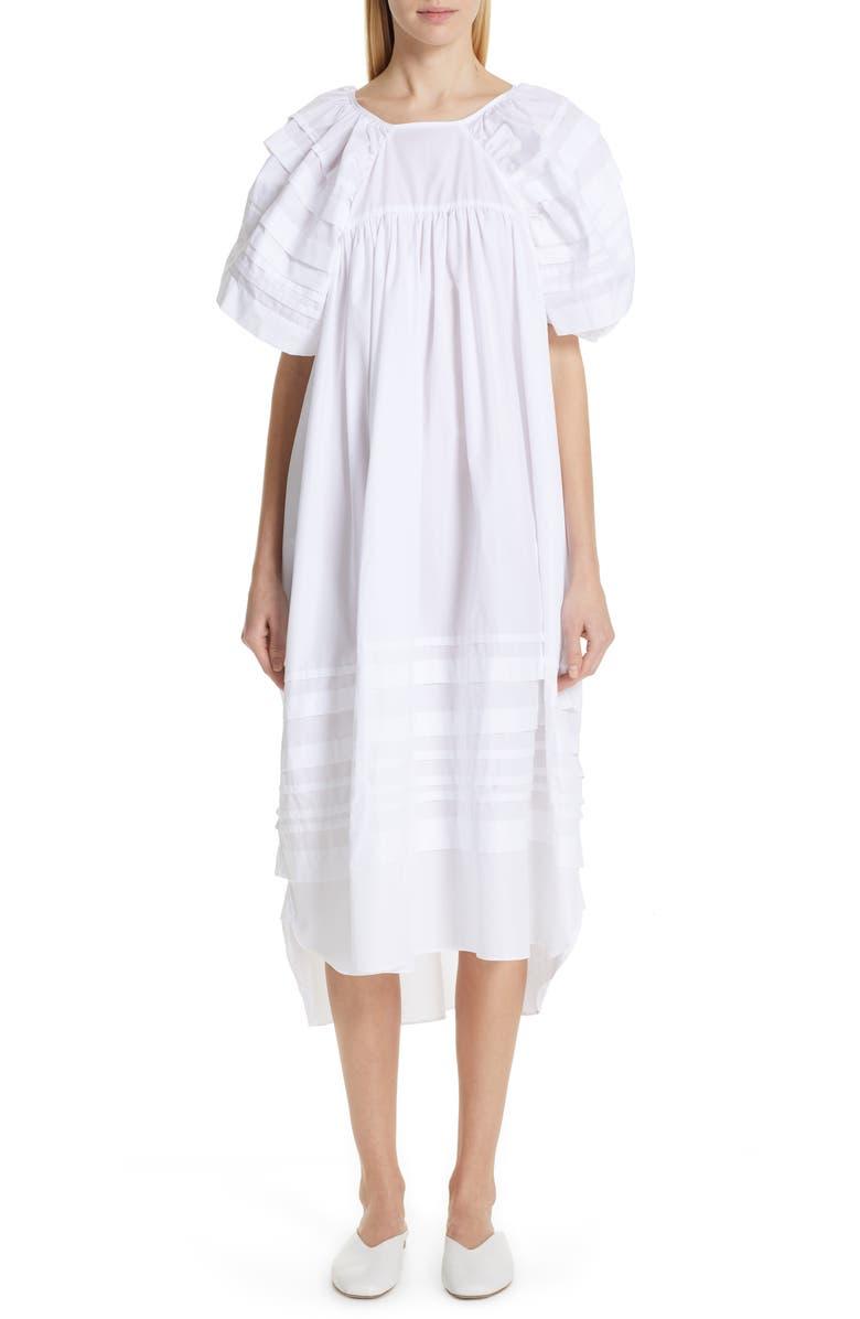 CECILIE BAHNSEN Penelope Dress, Main, color, 100