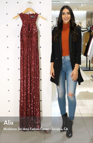 Halter Sequin Gown, sales video thumbnail