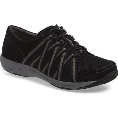 Dansko Halifax Collection Honor Sneaker-7- Black