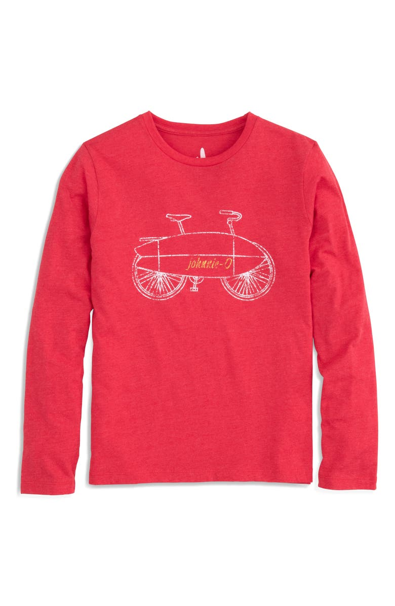 JOHNNIE-O Morning Commute Long Sleeve T-Shirt, Main, color, SERRANO