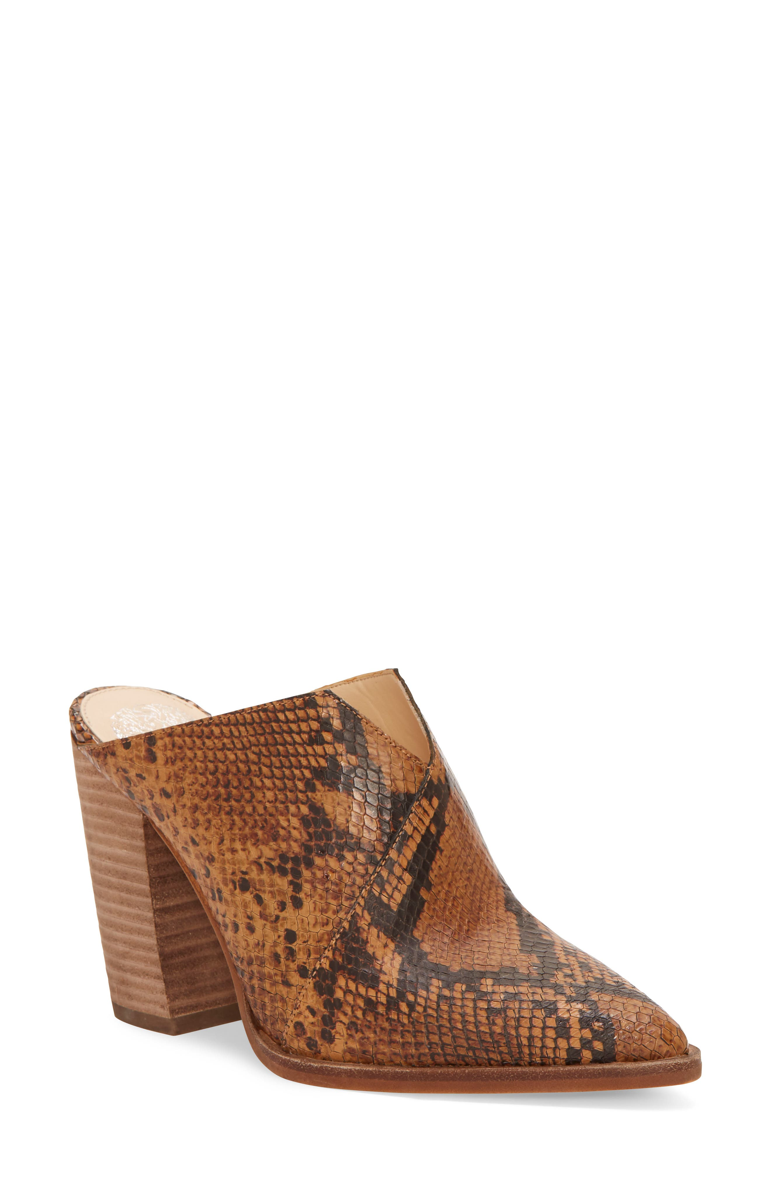 Vince Camuto Crissidy Mule, Brown