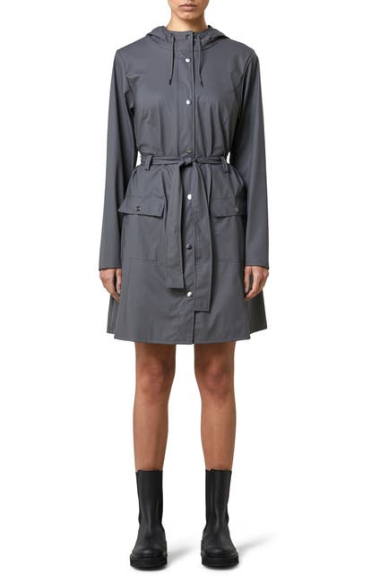 Image of Rains Curve Hooded Rain Jacket