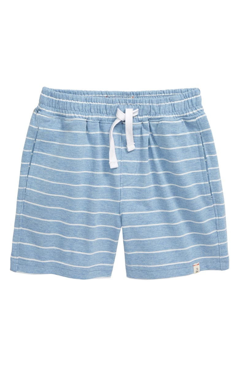 ME & HENRY Stripe Jersey Shorts, Main, color, 400