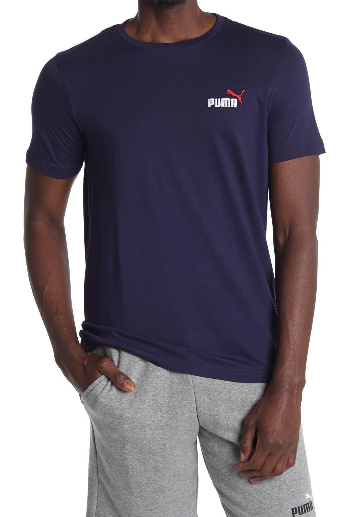 Image of PUMA Essential Embroidered Logo Tee