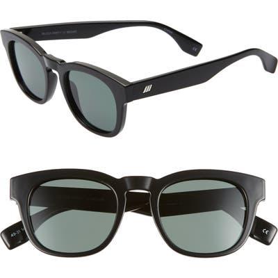 Le Specs Block Party Polarized Sunglasses - Black