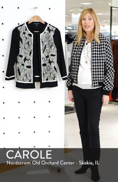 Floral Knit Jacket, sales video thumbnail