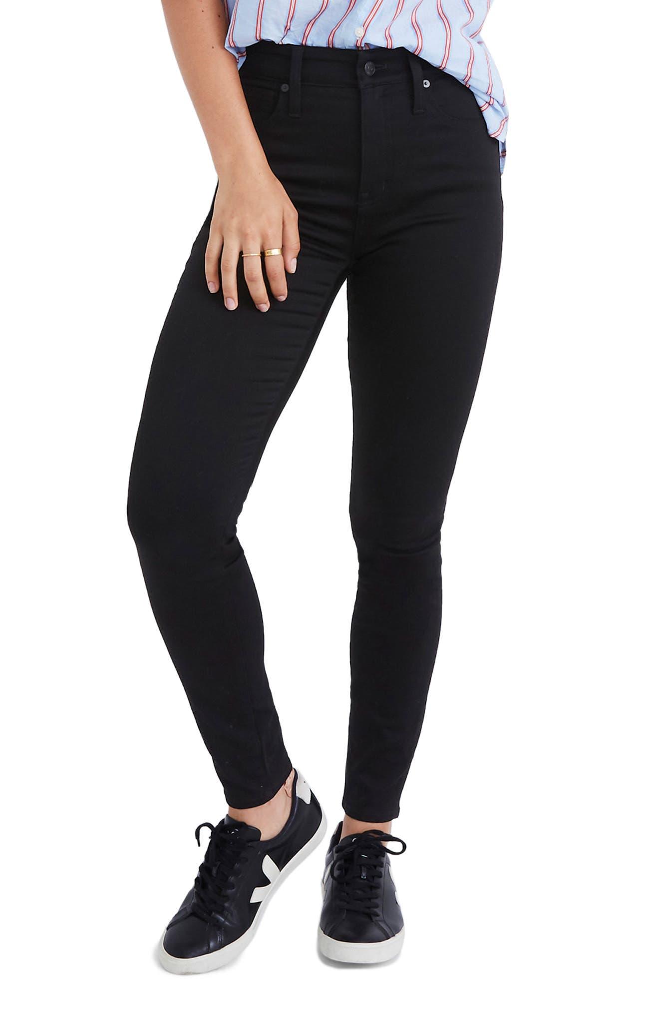 Curvy High Waist Skinny Jeans