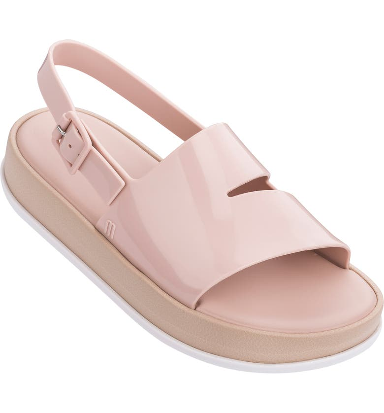 MELISSA Soft Cutout Jelly Platform Sandal, Main, color, 681