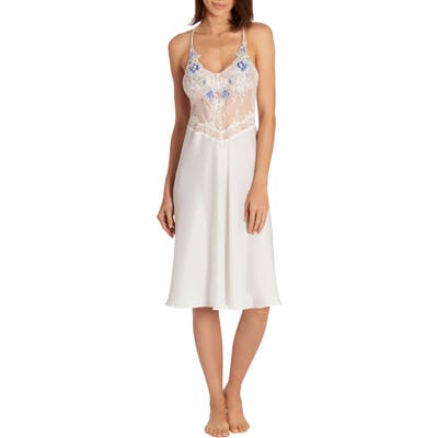 In Bloom By Jonquil Lace Bodice Nightgown, Ivory