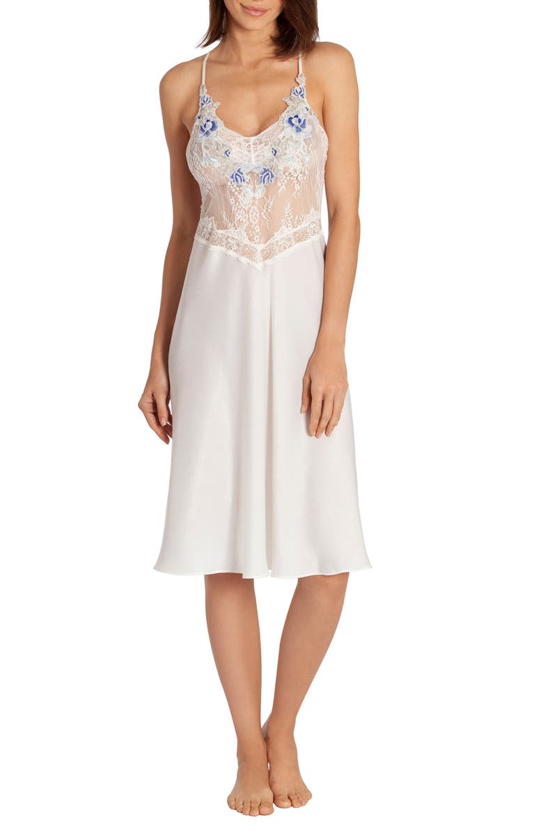 IN BLOOM BY JONQUIL Lace Bodice Nightgown, Main, color, 900