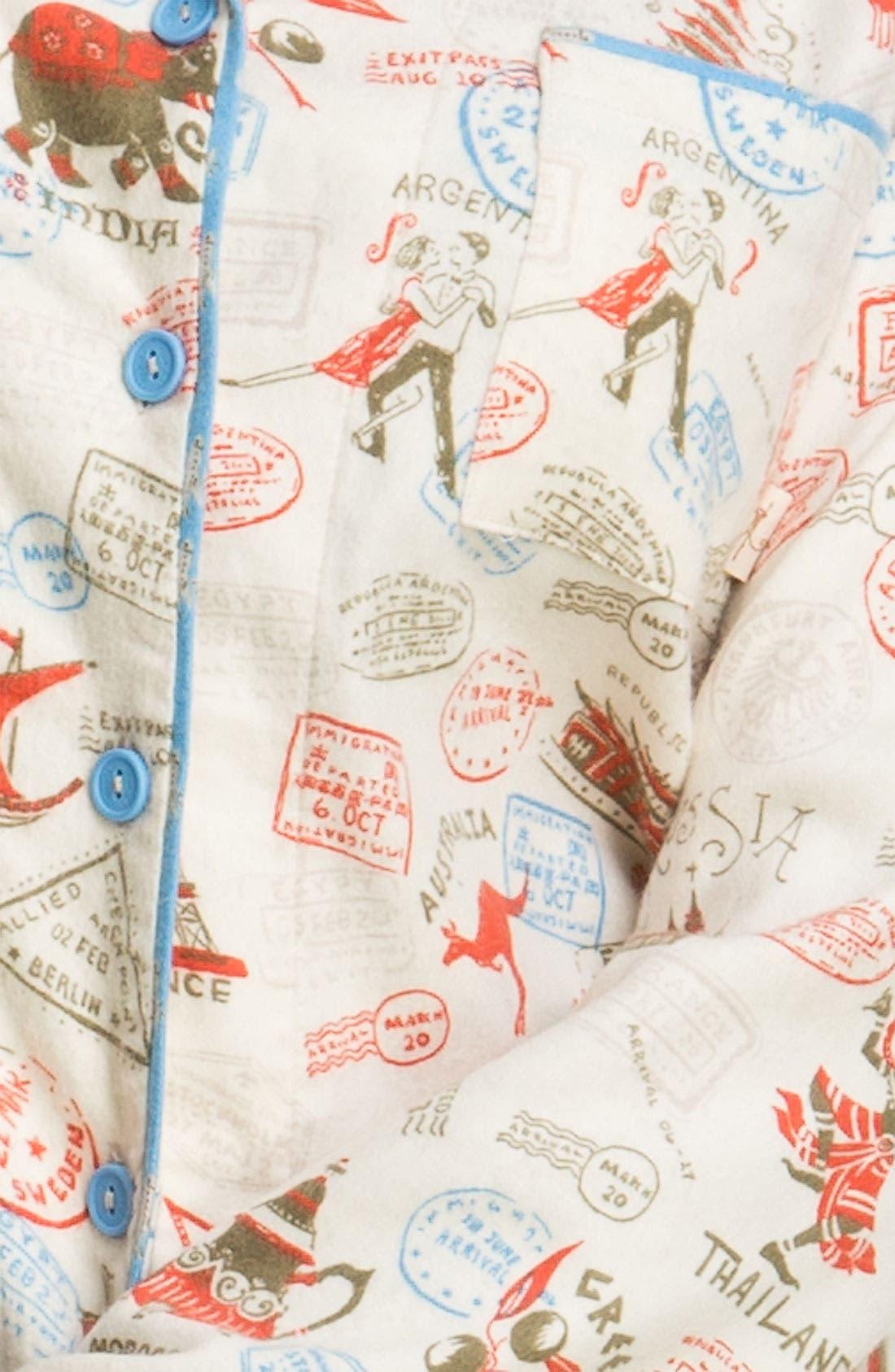 ,                             Flannel Pajamas,                             Alternate thumbnail 14, color,                             102