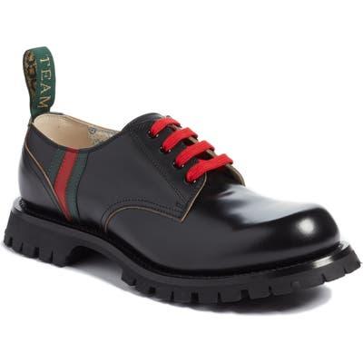 Gucci Arley Plain Toe DerbyUS / 9.5UK - Black