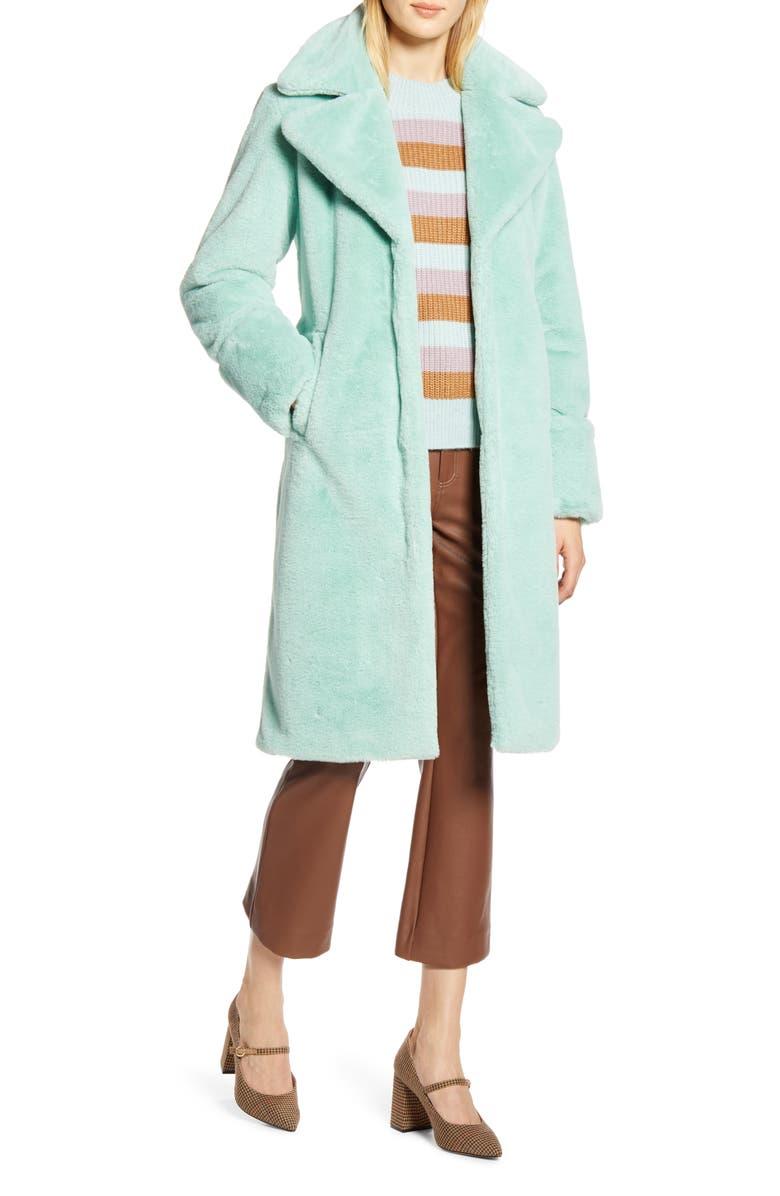 HALOGEN<SUP>®</SUP> x Atlantic-Pacific Faux Fur Coat, Main, color, 330