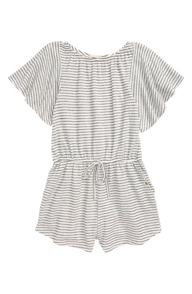 BILLABONG Singing Tulips Stripe Romper, Main, color, 190