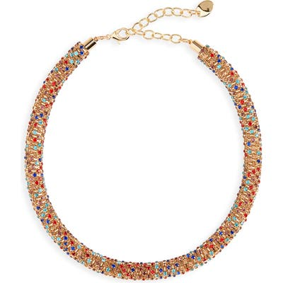 Stella + Ruby Tani Crystal Collar Necklace