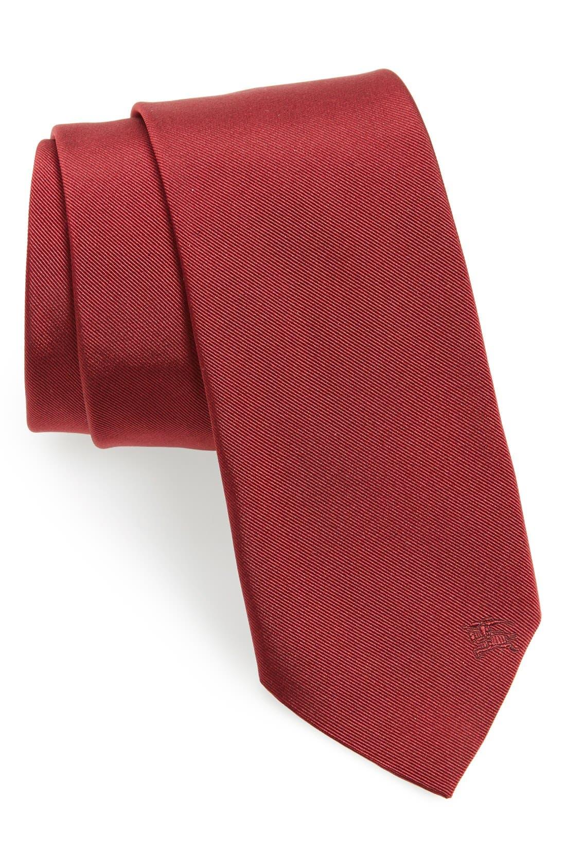 ,                             London 'Manston' Twill Silk Tie,                             Main thumbnail 3, color,                             602
