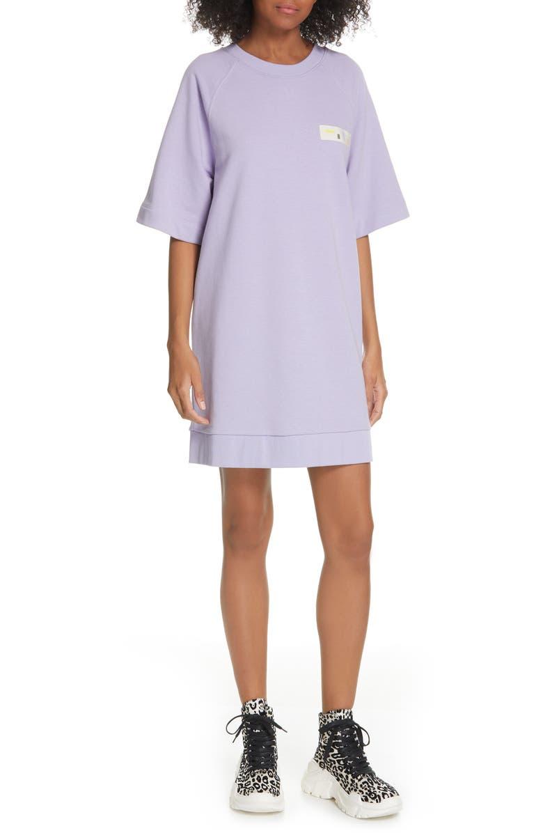 TIBI Sweatshirt Dress, Main, color, LAVENDER