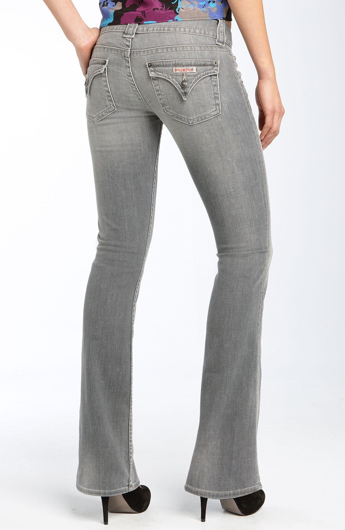 ,                             Signature Flap Pocket Bootcut Jeans,                             Alternate thumbnail 19, color,                             034