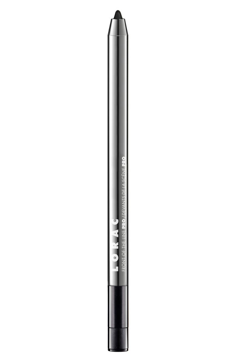 LORAC Front of the Line PRO Eye Pencil, Main, color, BLACK