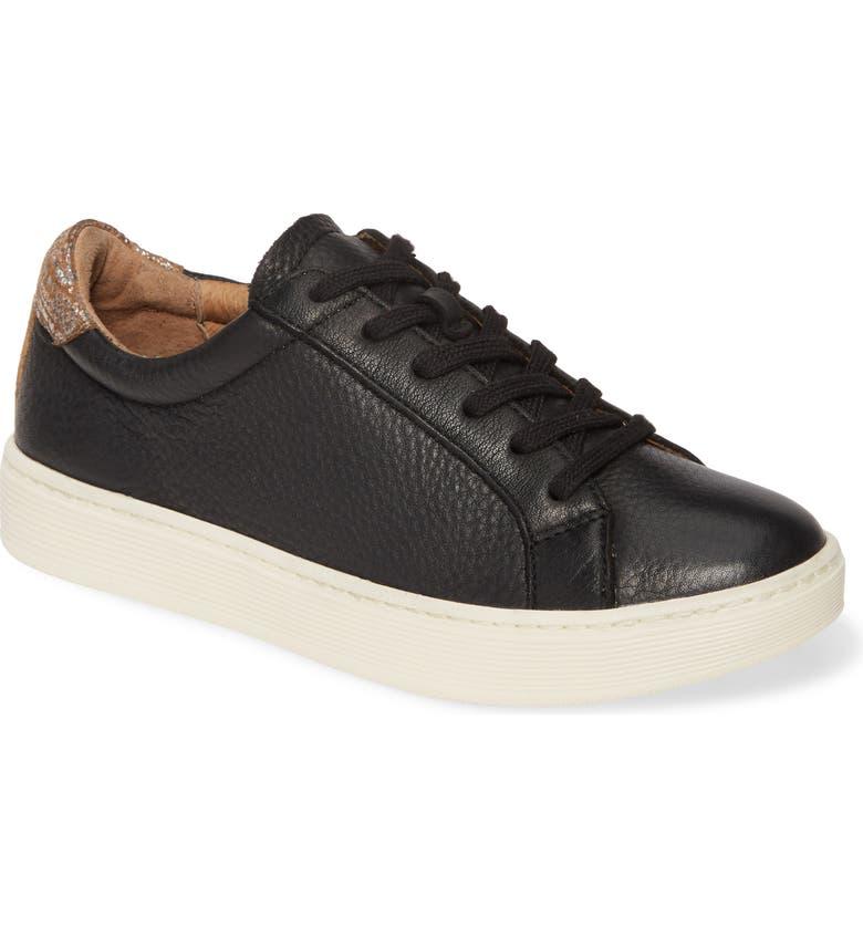 SÖFFT Somers Tie Sneaker, Main, color, 001