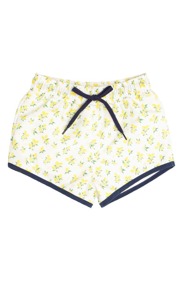 MINNOW Lemon Drop Boardie Shorts, Main, color, YELLOW
