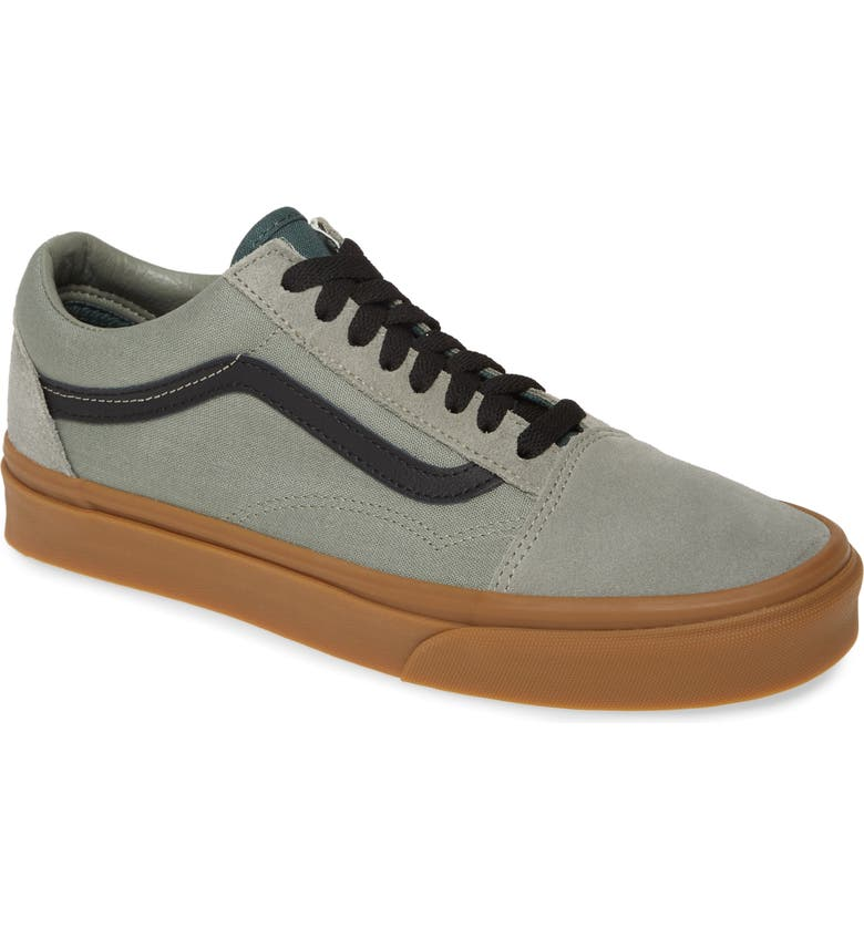 VANS Old Skool Sneaker, Main, color, SHADOW/ TREKKING GREEN