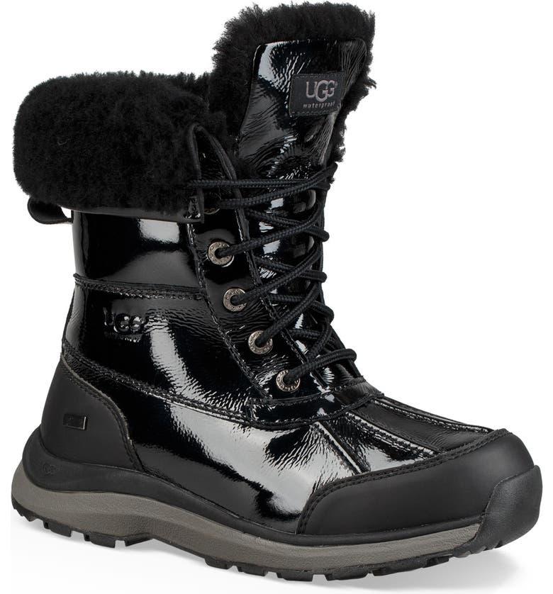 afe5fb5b673 Adirondack III Waterproof Insulated Patent Winter Boot