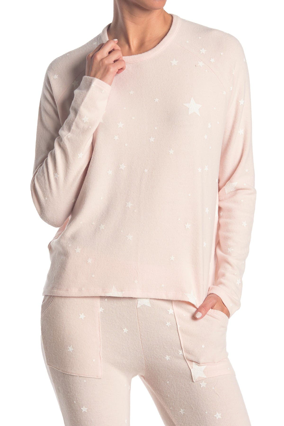Image of Sweet Romeo Star Crew Neck Pullover
