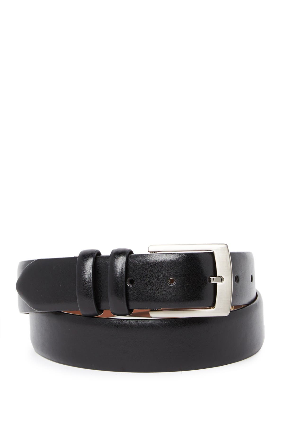 Image of BOSCA Leather Belt