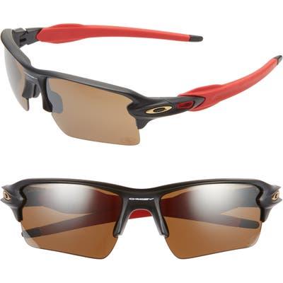 Oakley Nfl Flak 2.l 5m Polarized Sunglasses - San Francisco 49Ers
